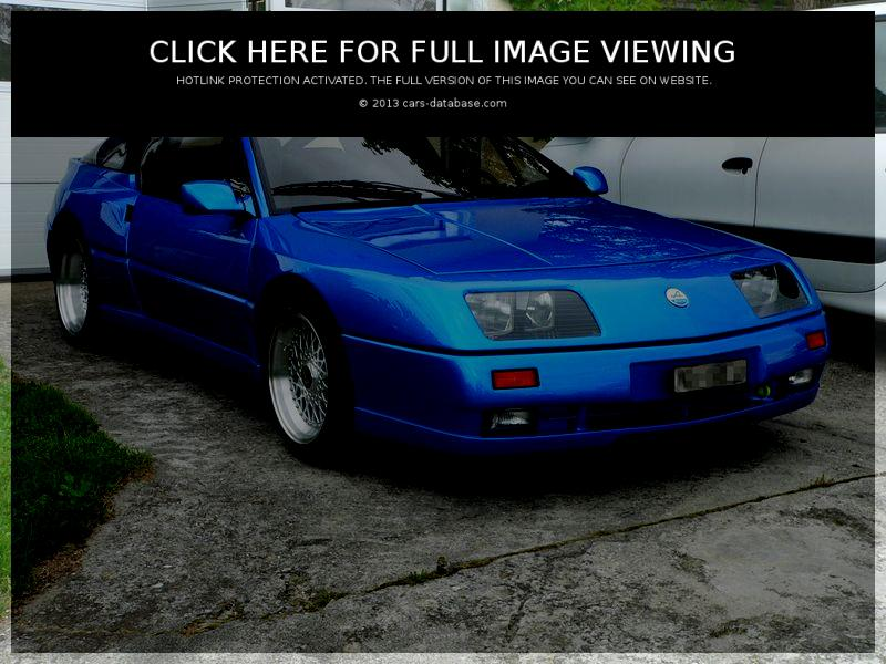Alpine V6: Information about model, images gallery and complete ...
