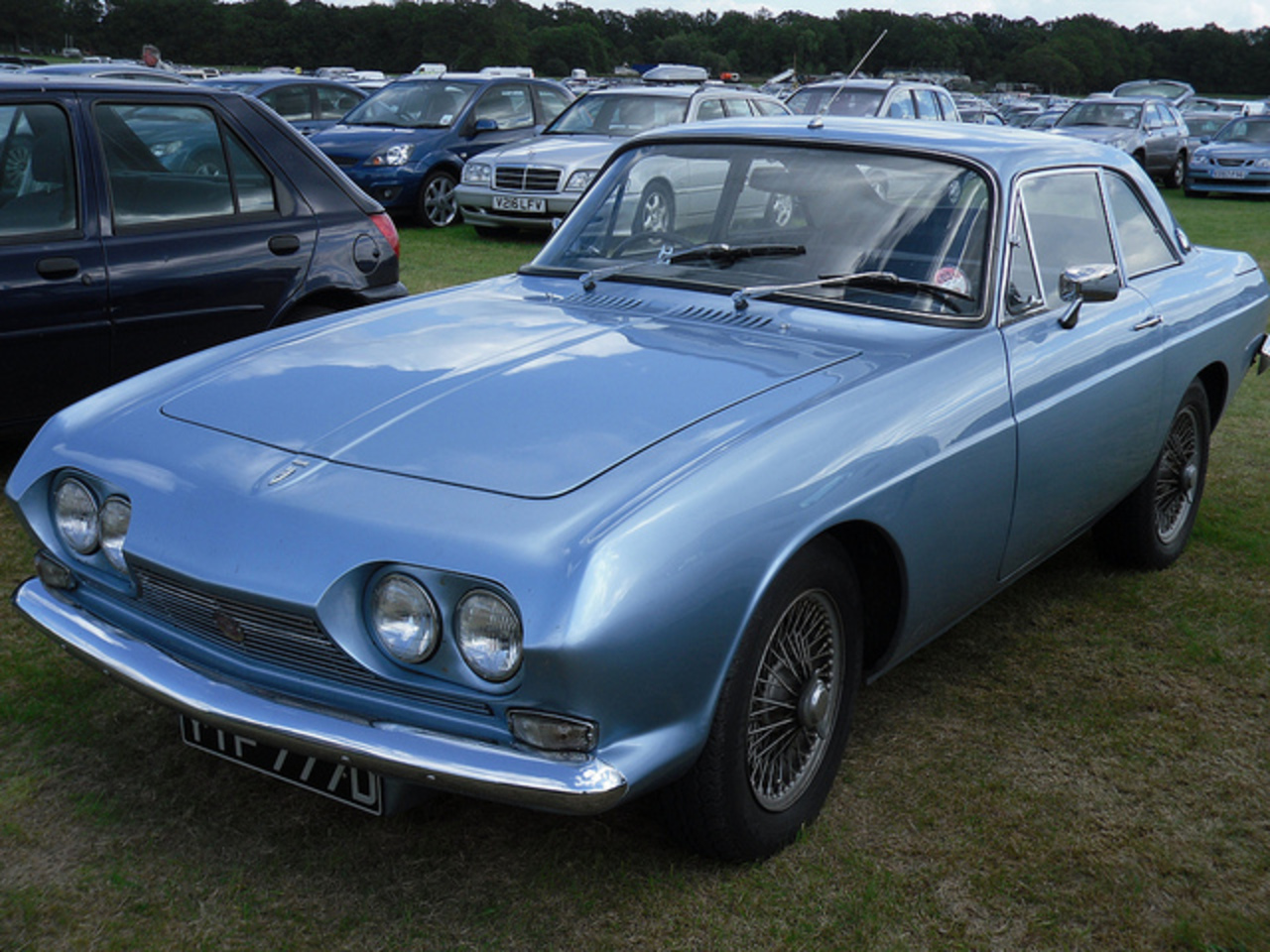 1966 Reliant Scimitar SE4 2.6 Coupe. | Flickr - Photo Sharing!