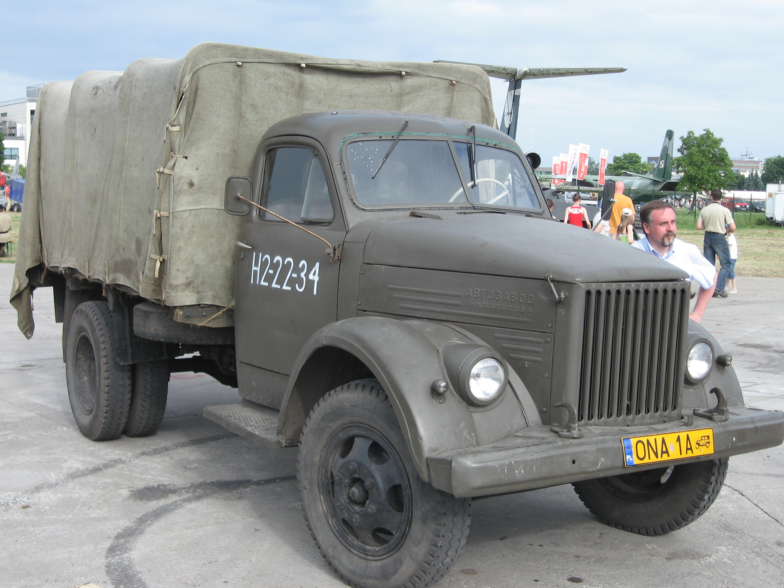 File:GAZ-51 during the VII Aircraft Picnic in Kraków.jpg ...
