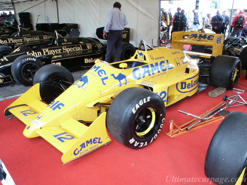 Lotus 99T Honda - High Resolution Image (1 of 1)