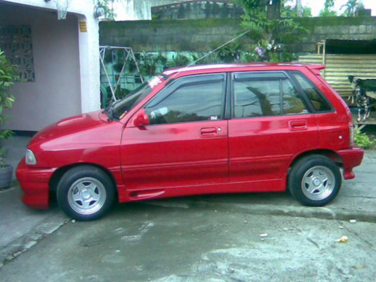 KIA PRIDE 1996 MODEL, RED, FULLY LOADED - Angeles City - Cars ...