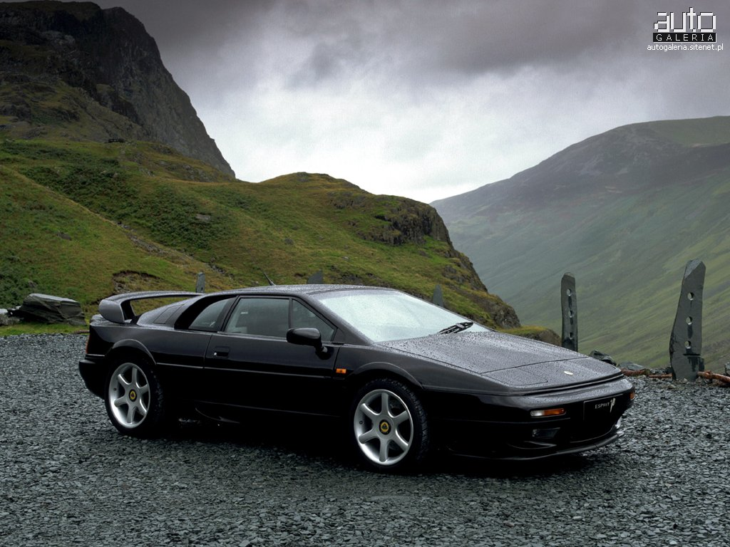 SPORTS CARS PICTURES: Lotus Esprit V8 Pictures Collection