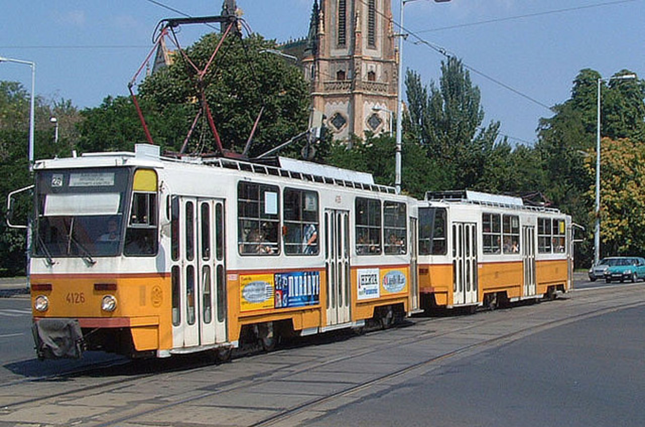 Czech TATRA tram in Budapest | Flickr - Photo Sharing!