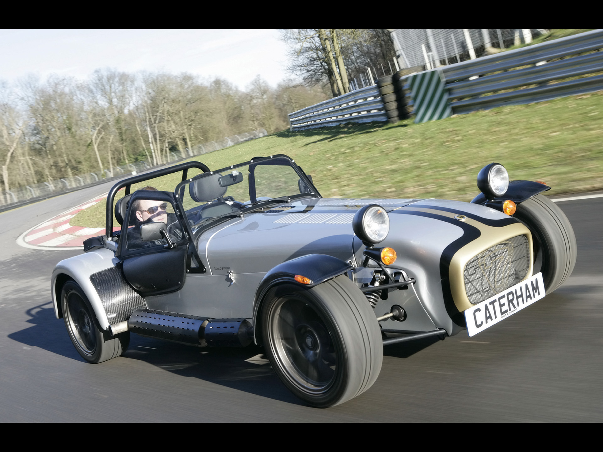 2007 Caterham Seven Roadsport Images. Photo: Caterham-