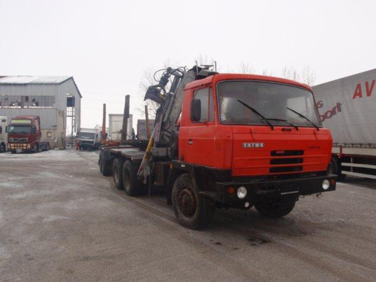 Tatra T 815 P woodcarrier 6x6. Price 7,500 EUR. - Classifieds ...