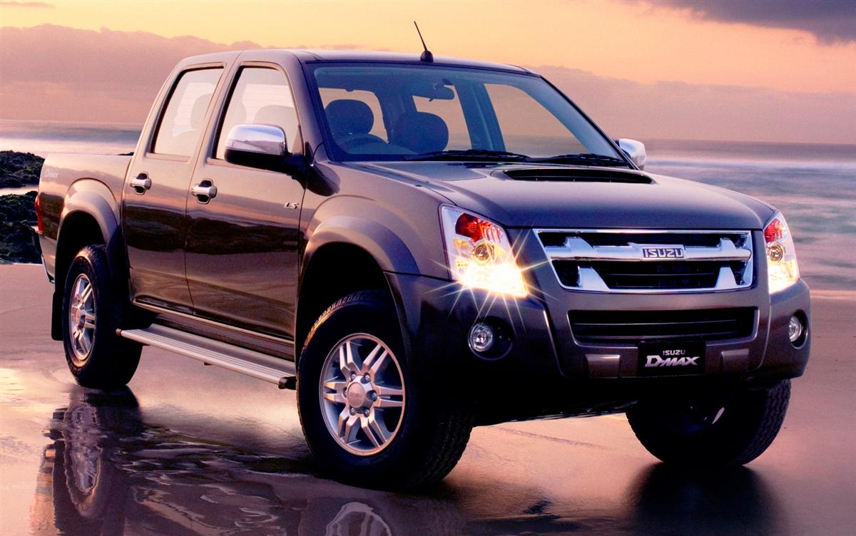 2010 Isuzu D-Max SX, LS, EX, LS-M, LS-U Updated | Reviews | Prices ...
