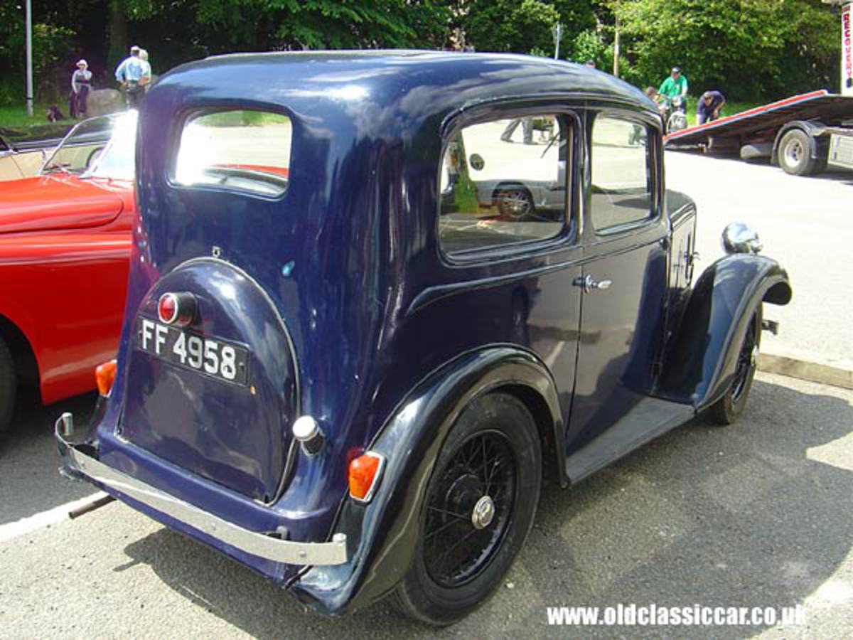 Blue 1930s Austin 7 Ruby (68 of 90)
