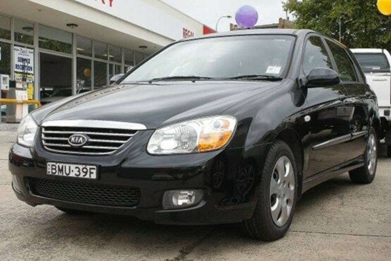 2007 Kia Cerato LD Black 4 Speed Automatic Hatchback | Cars, Vans ...