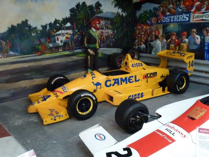 Racing Car Photos - Lotus 99T