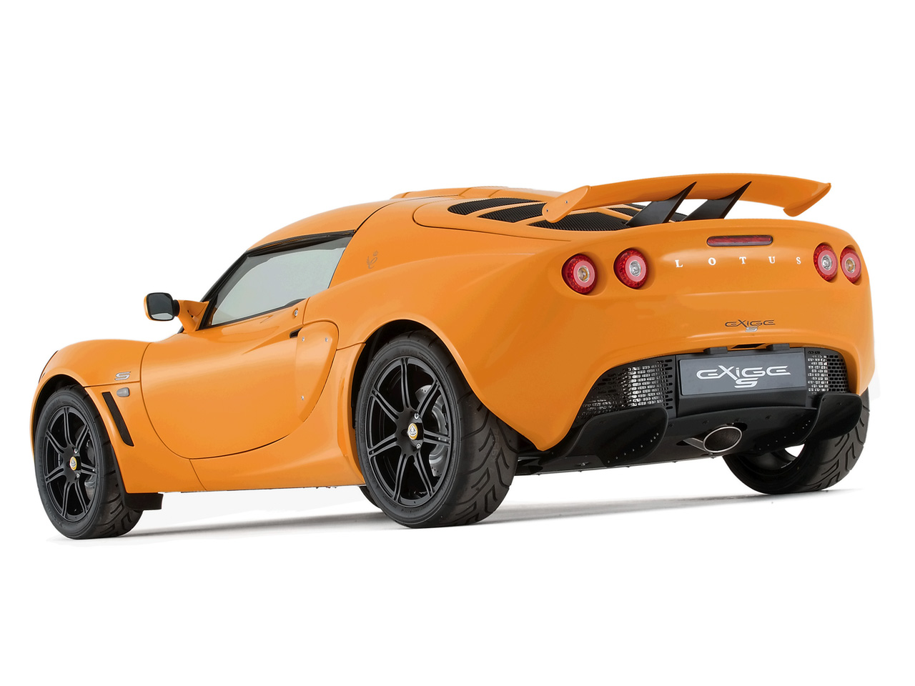 2006 Lotus Exige S - Rear Angle - 1280x960 Wallpaper