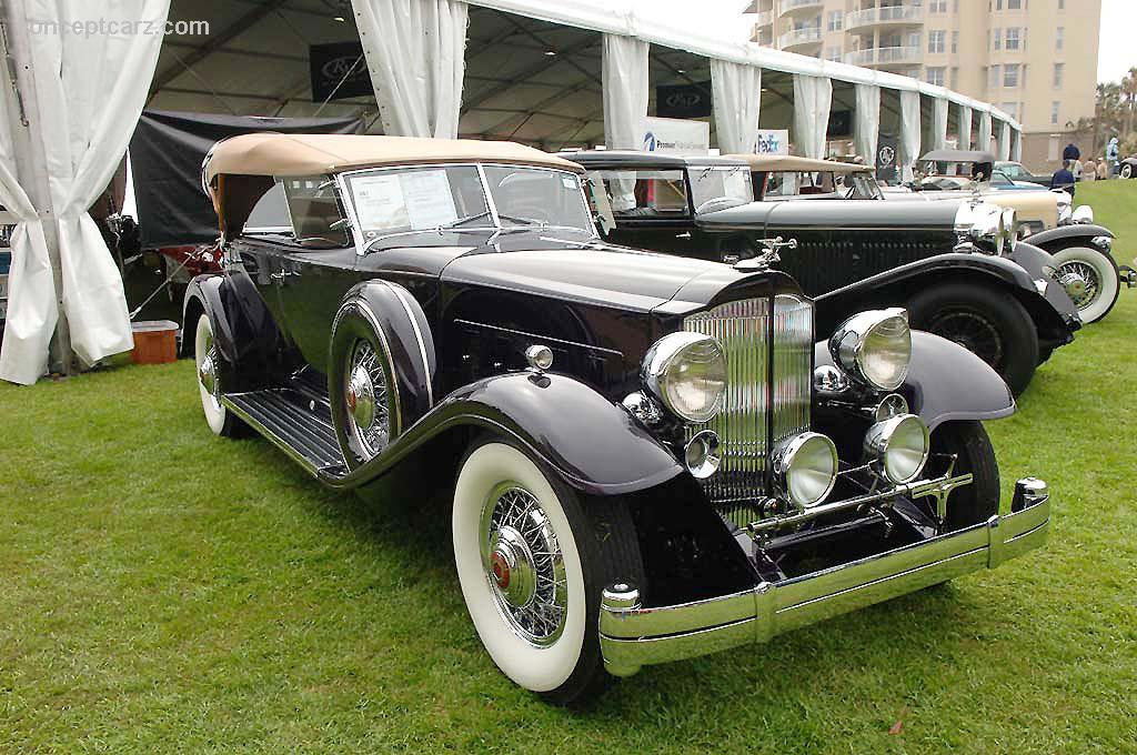 1932 Packard Model 906 Twin Six at the Vintage Motor Cars at ...