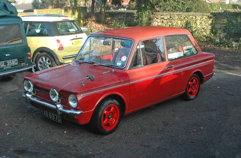 Andys 1969 Hillman Imp Deluxe Home page