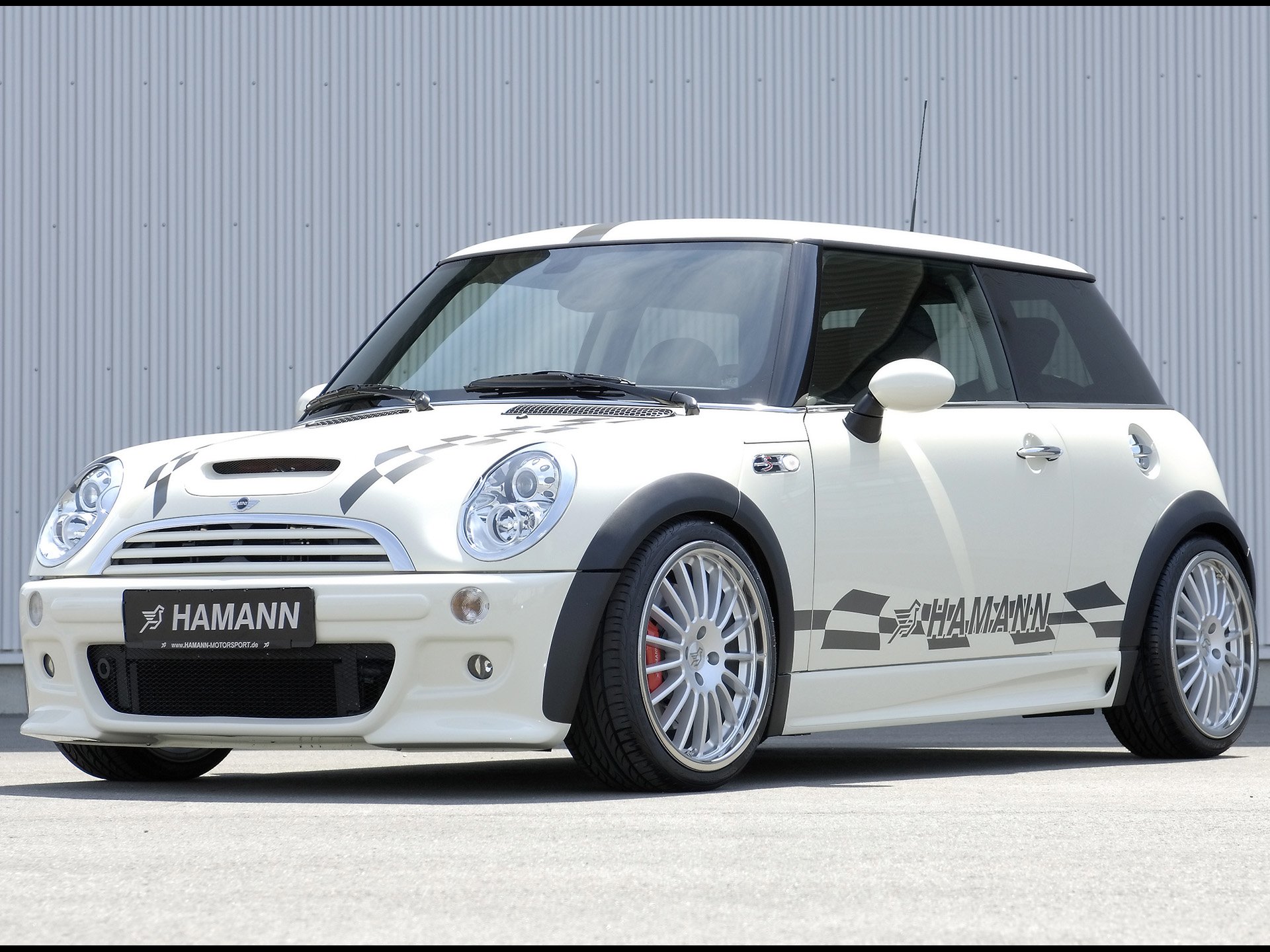 2006 Hamann Mini Cooper S - Side Angle - 1920x1440 - Wallpaper