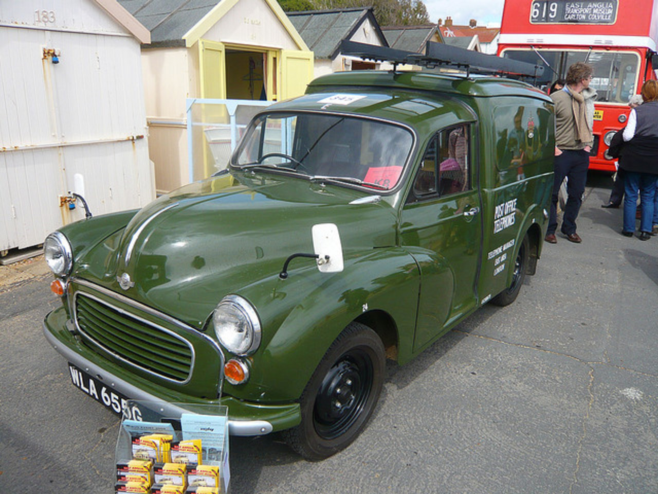 Morris 1000 Post Office Van Photo Gallery: Photo #02 out of 9 ...