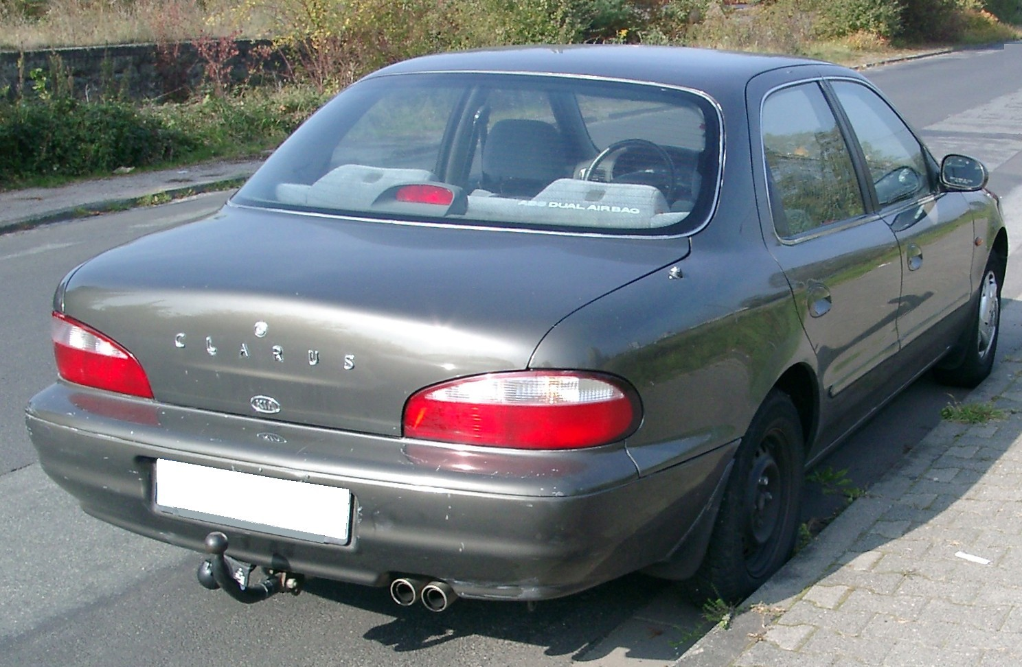 File:Kia Clarus rear 20071011.jpg - Wikimedia Commons