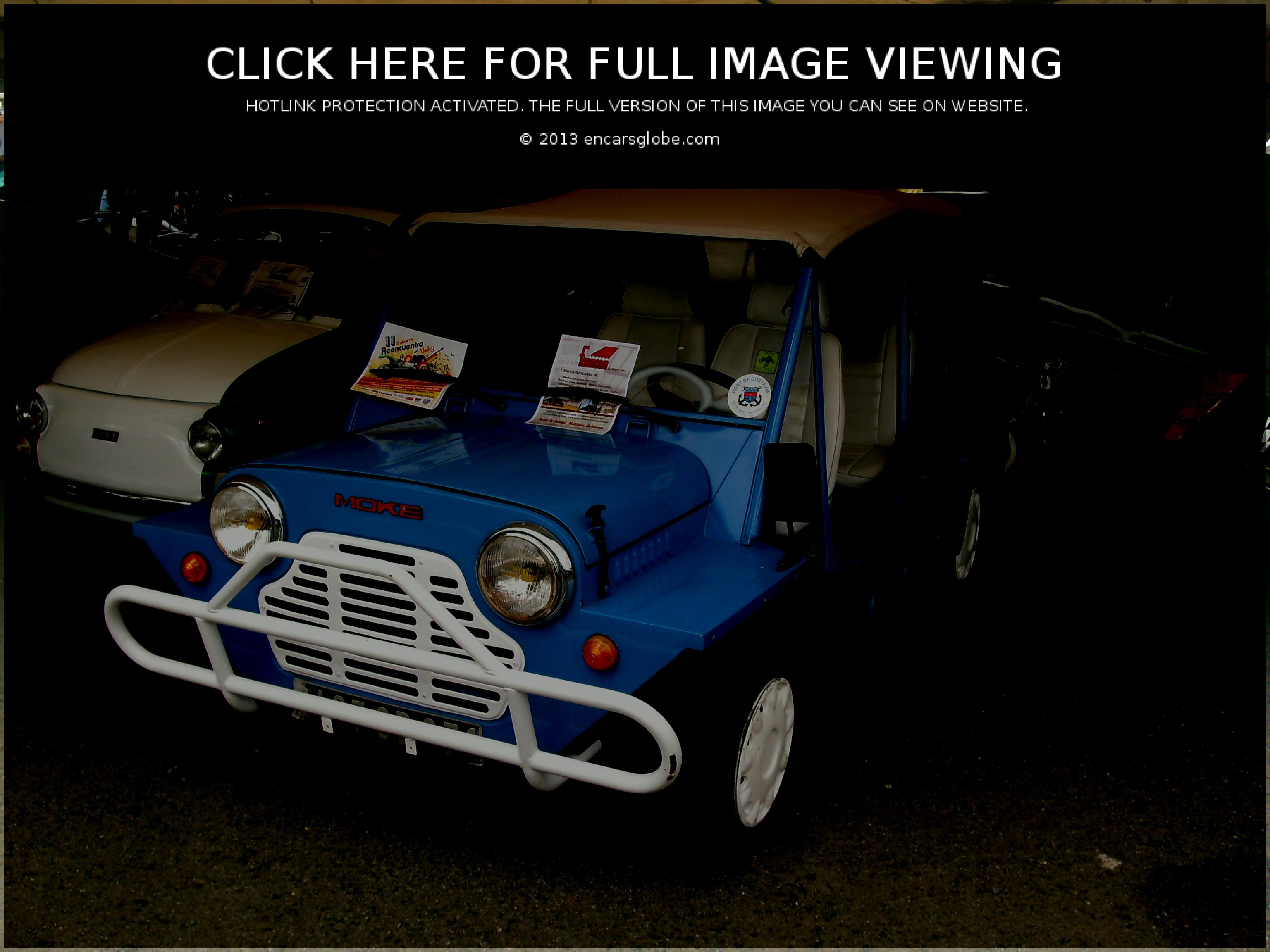 Morris Mini Moke: Description of the model, photo gallery ...