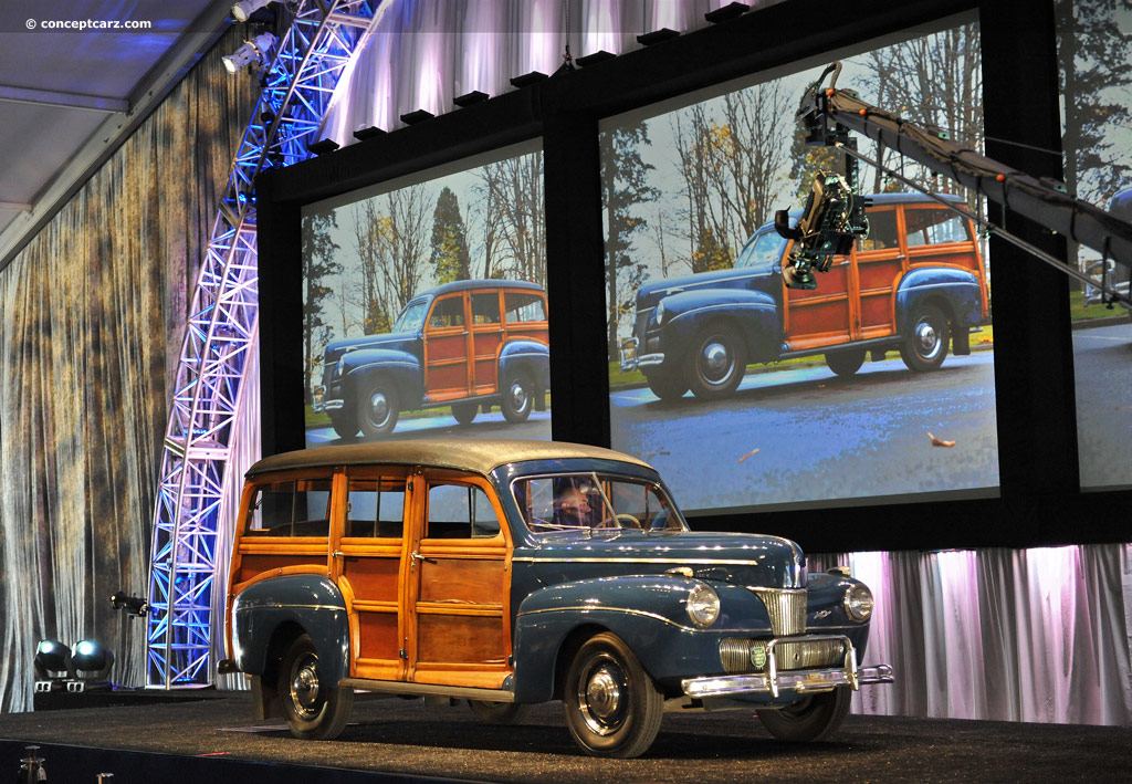 1941 Ford Deluxe Images, Information and History (Super Deluxe ...