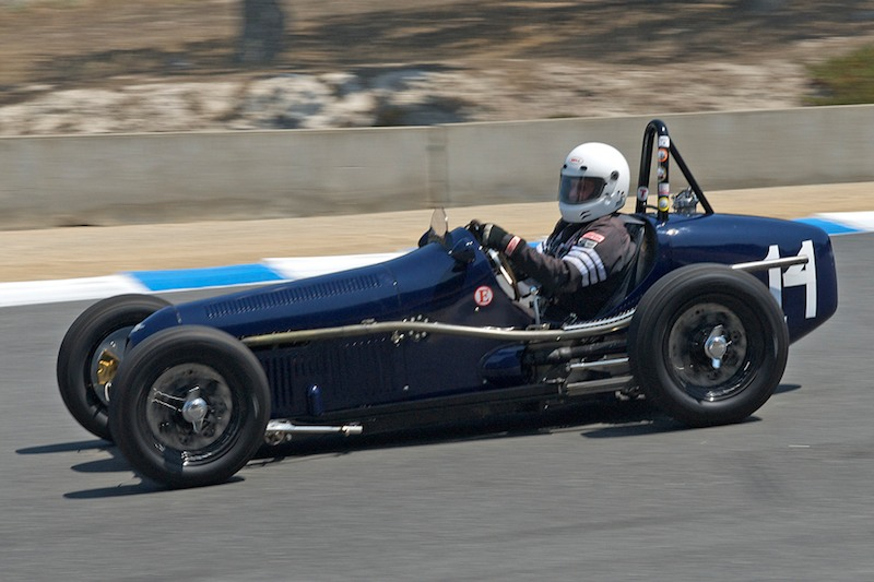 2009 Monterey Historic Automobile Races - Saturday Results and Photos