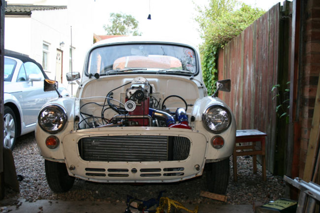 Supercharged Morris Minor 1000 Project - Page 7