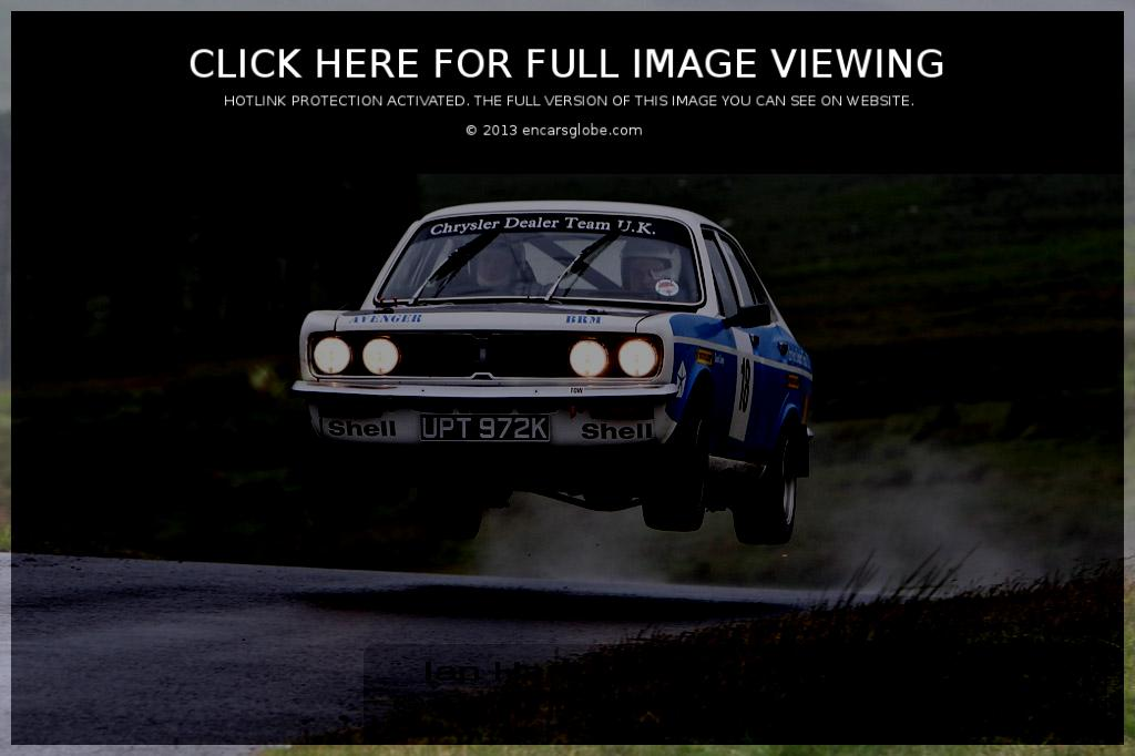 Hillman Avenger: Description of the model, photo gallery ...