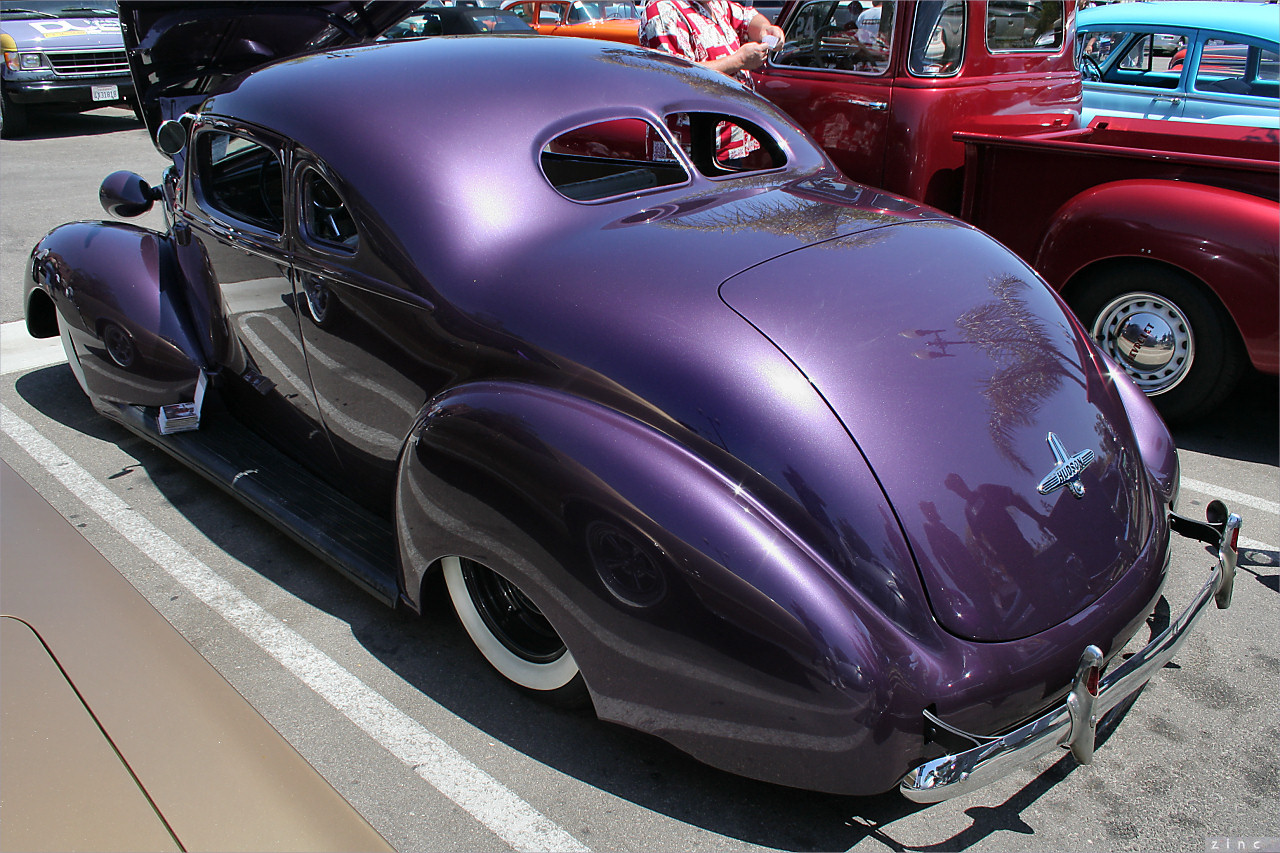 1939 Hudson 112 Coupe - custom - purple met - rvl2 | Flickr ...