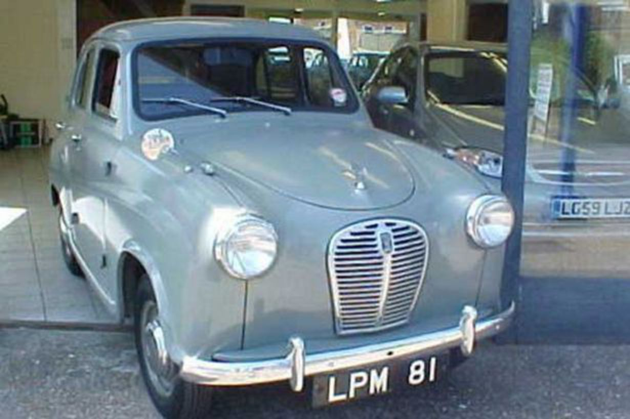 Austin A30 is cooking on eBay - Mirror Online