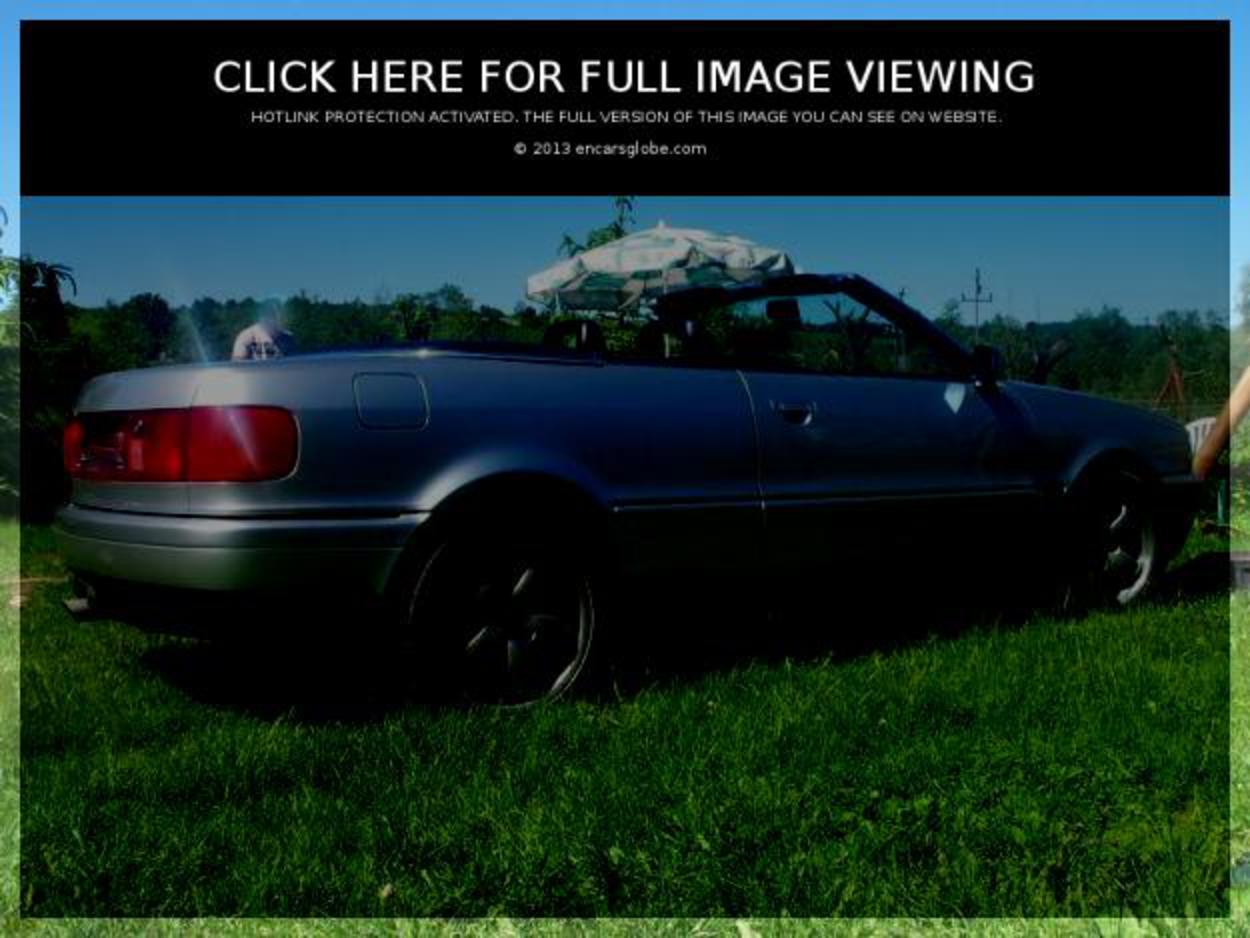 Audi 80 Cabriolet 23E Photo Gallery: Photo #11 out of 7, Image ...