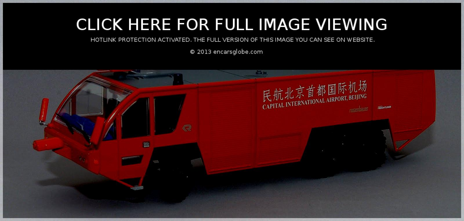 Rosenbauer Panther FL 6x6: Photo gallery, complete information ...