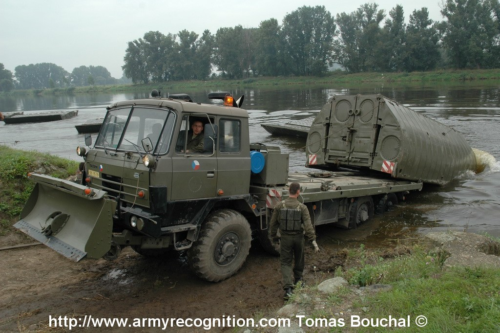 Army Recognition :: View topic - Tatra T815 PMS Czech Pontoon ...