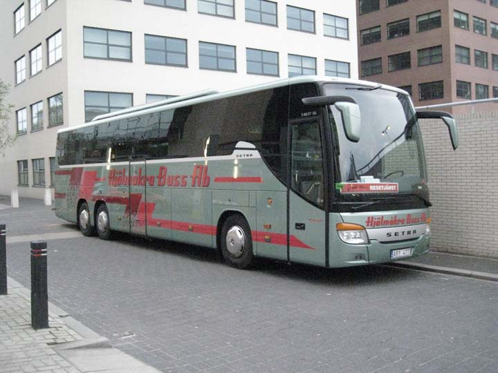 Bus and Coach Photos - Hjälmakra Buss Ab Setra S416 GT-