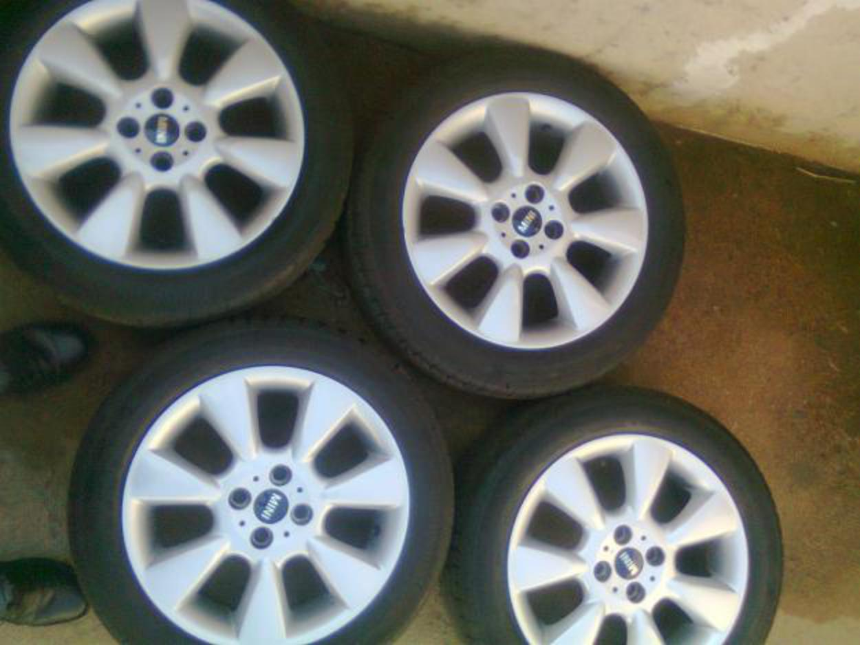 "Mini cooper 16"" mags and tyres - Pretoria - Tyres, rims & exhausts ..."