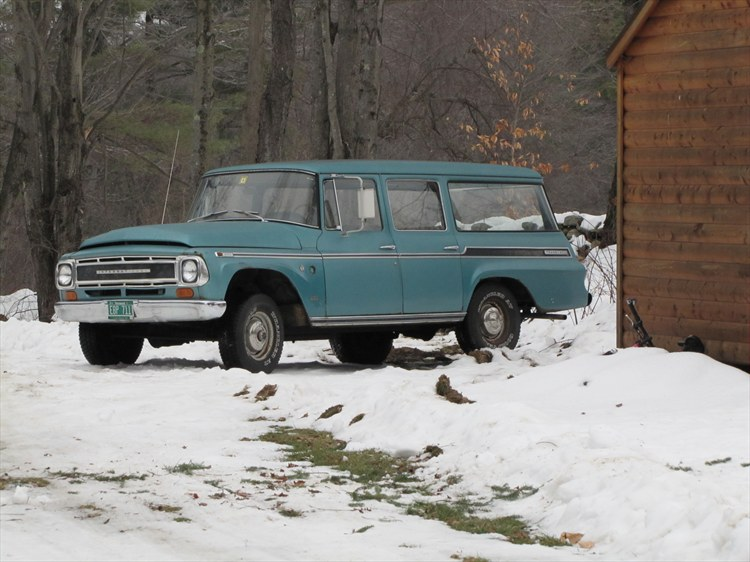 "1968 International Travelall ""Gus"" - everywhere, VT owned by ..."