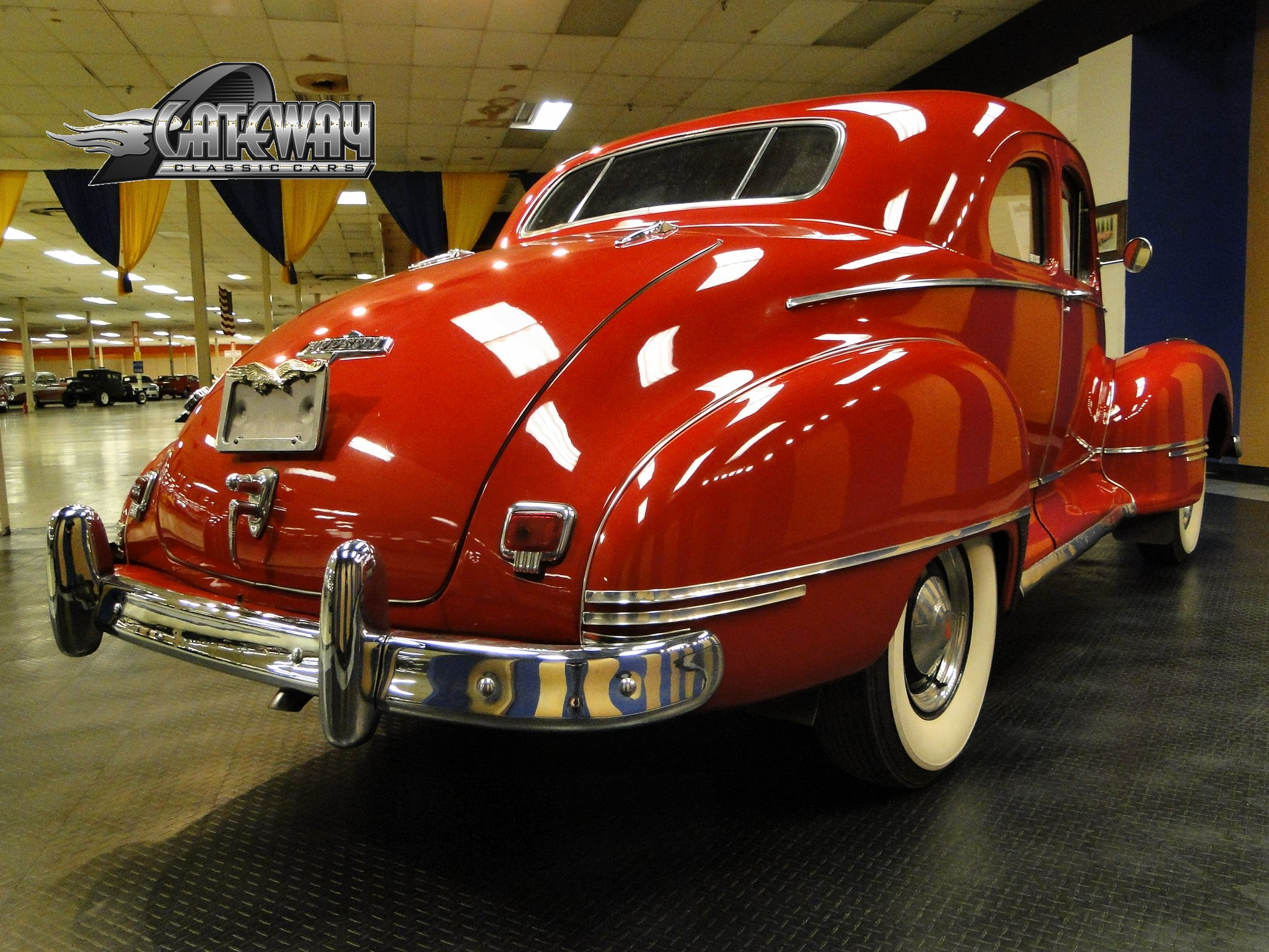 1947 Hudson Super Six Club Coupe for Sale - Gateway Classic Cars