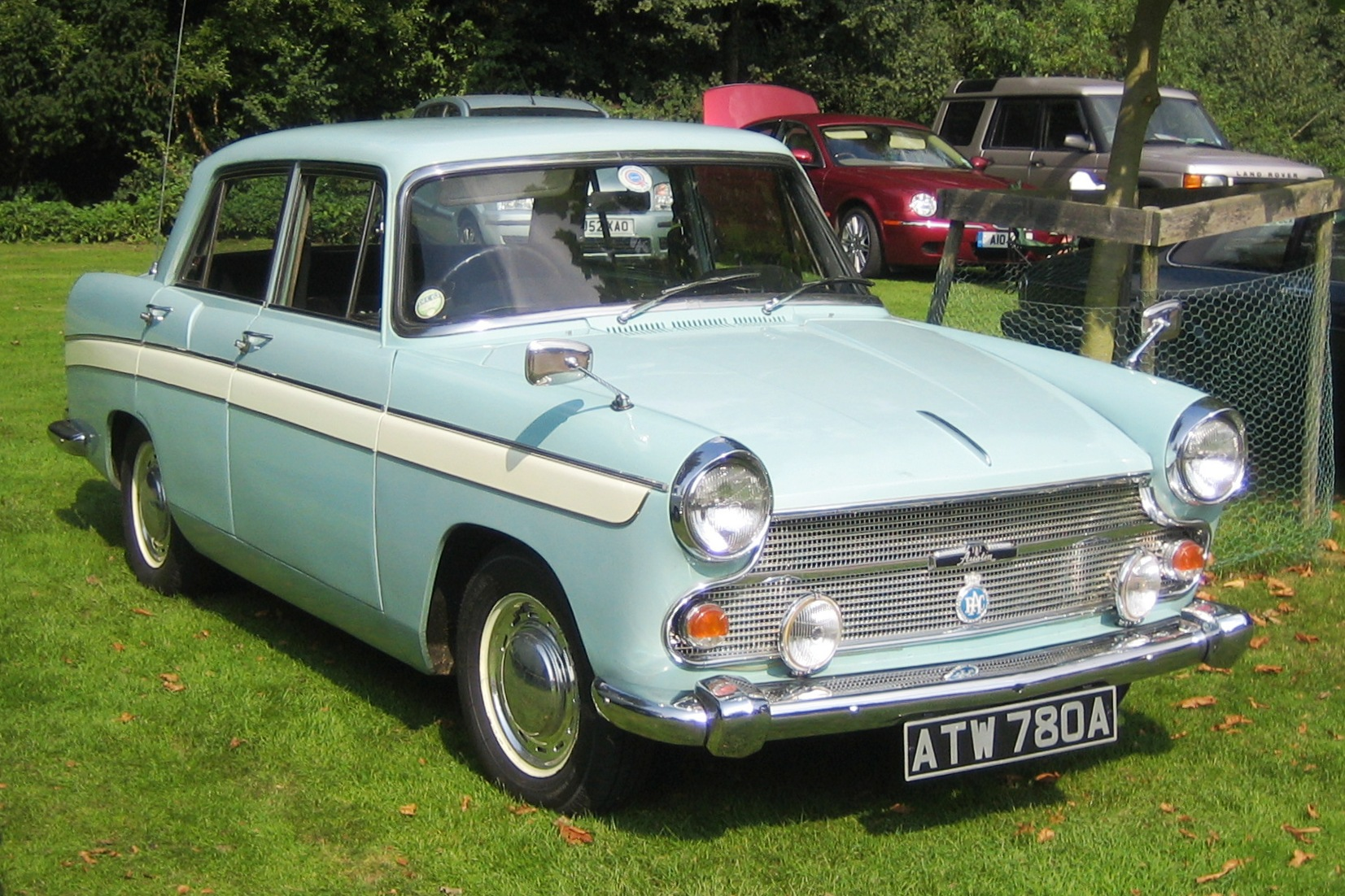 File:Austin Cambridge A60 1963 Castle Hedingham 2008.JPG ...