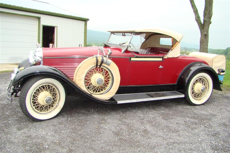 For Sale 1928 Stutz BB