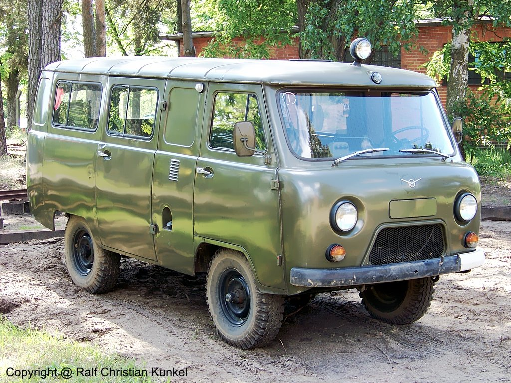 UAZ 452 - Allrad, Sowjetarmee, CA, lief auch - Fotoarchiv-