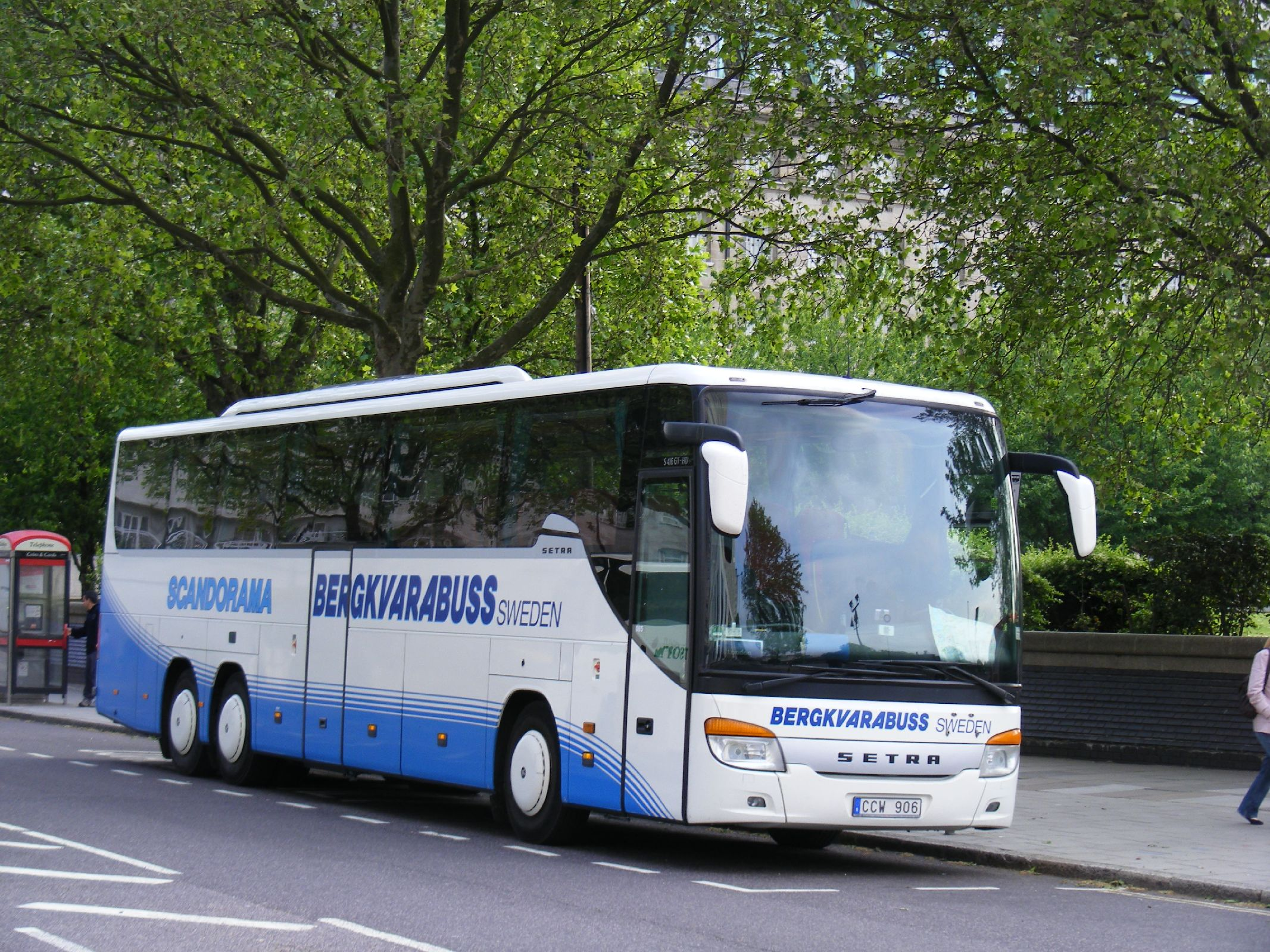 File:Bergkvarabuss, Setra S416 GT-HD, CCW906, Sweden. - Flickr ...