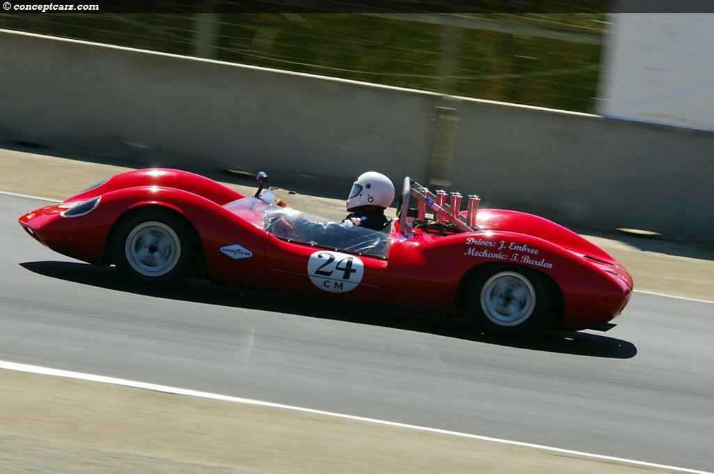 1964 Lotus Type 30 at the Monterey Historic Automobile Races at ...