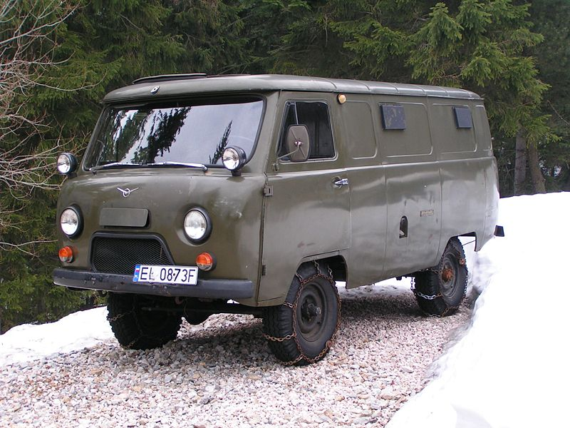 Uaz 452. Best photos and information of model.
