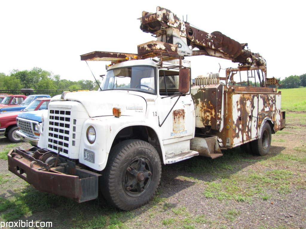 1978 International Loadstar 1850 Truck, Diesel, W/ Pitman Uni ...