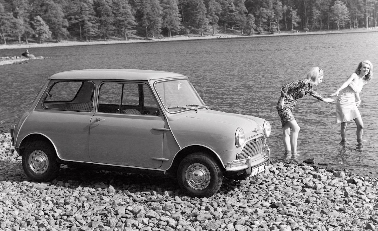 1964 Morris Mini Minor Super-de-Luxe photo