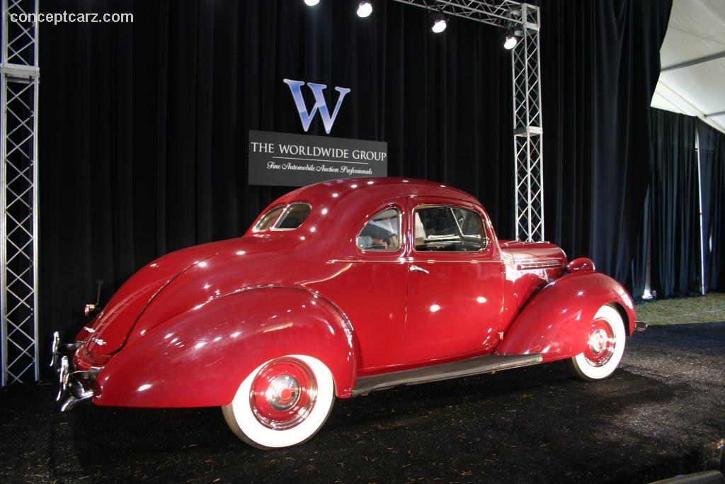 Auction results and data for 1937 Hudson Terraplane Utility Coupe ...