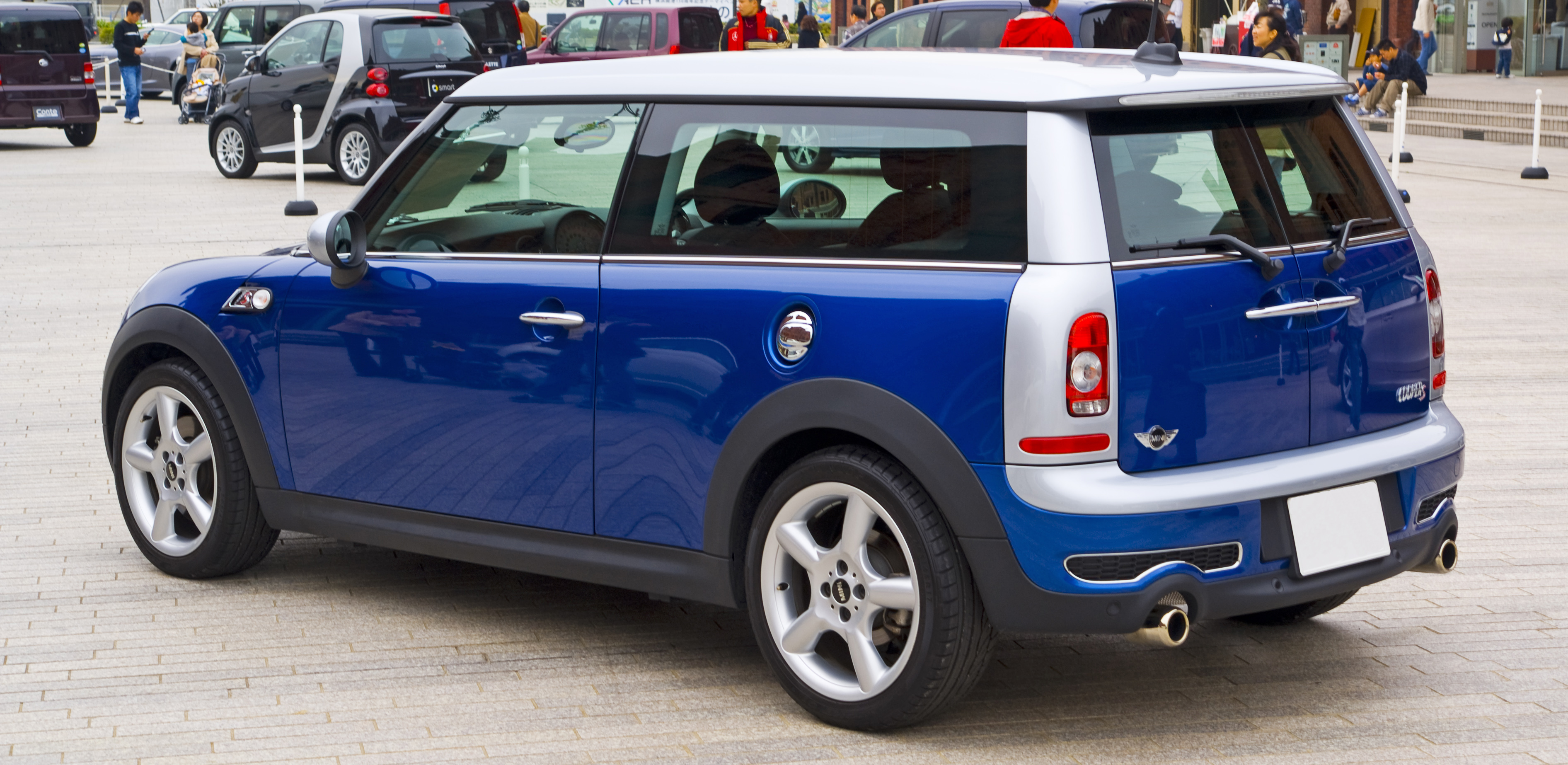File:MINI Cooper S Clubman 02.JPG - Wikimedia Commons