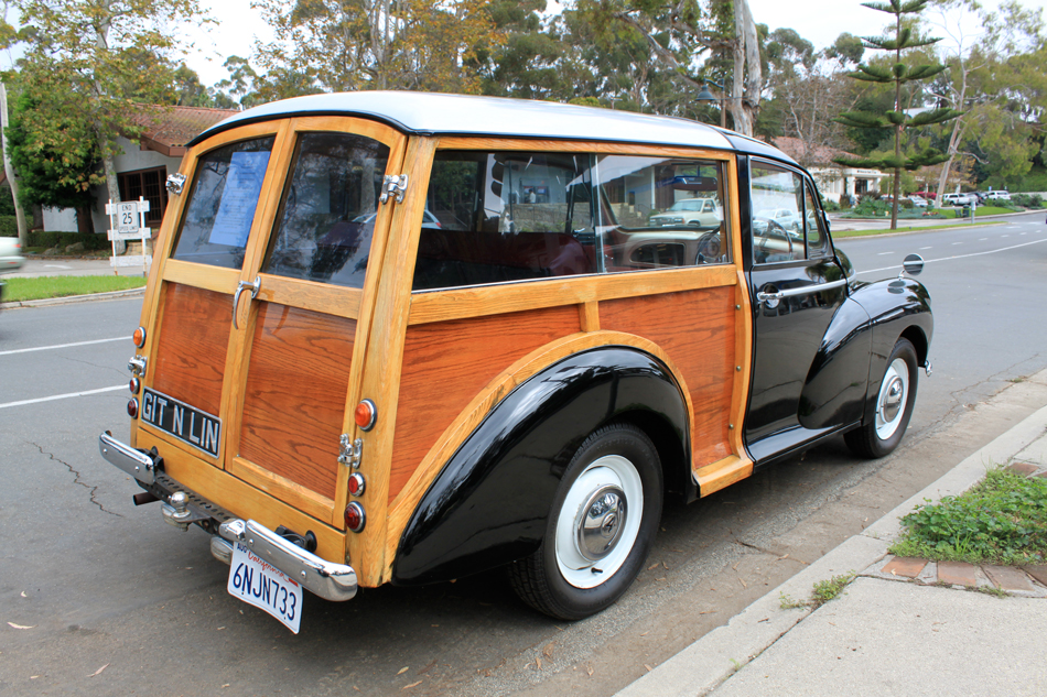 Morris Minor Traveller: Coast Village Circle – Santa Barbara, CA ...