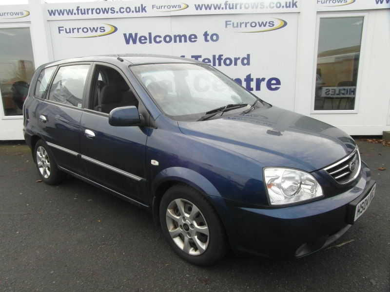Used Cars - 2004 Kia Carens LX (CRDi) Blue