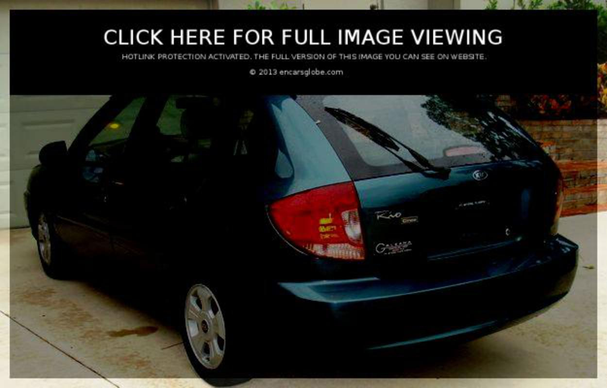 Kia Rio LS wagon: Photo gallery, complete information about model ...