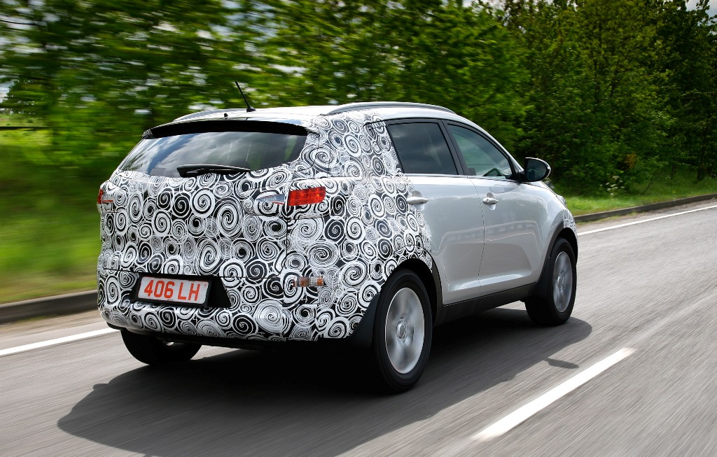 Kia Sportage 4x4 sees final development of dampers, springs and ...