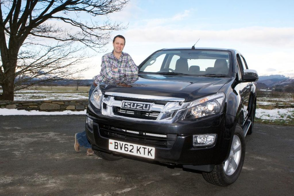 Champion Welsh Farmer Picks Up Isuzu D-