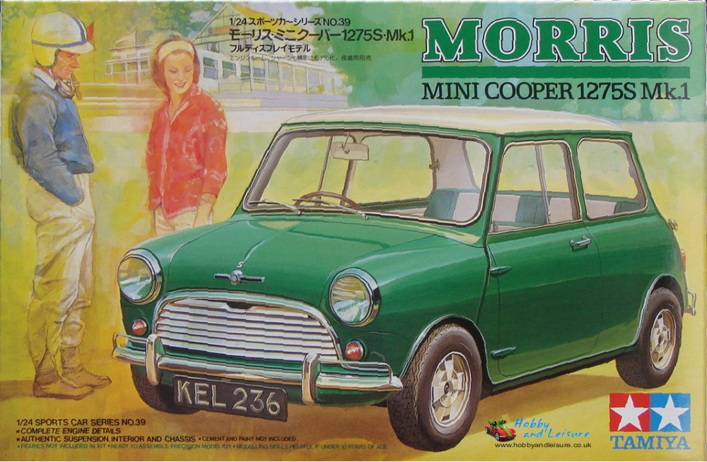 Tamiya Morris Mini Cooper 1275 Mk.1 24039 | Sussex Helicopters