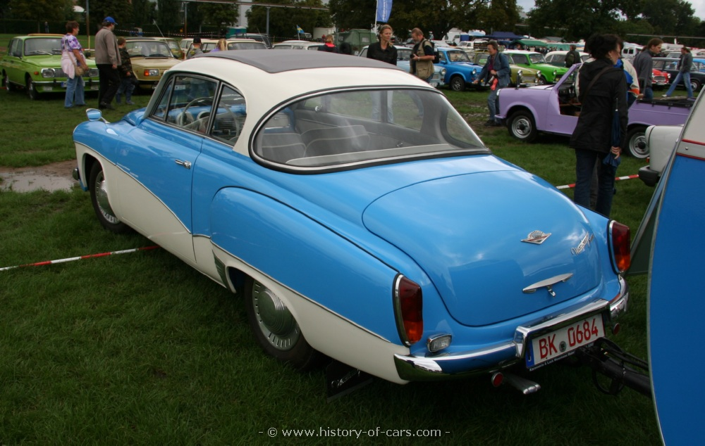 veb sachsenring 1962 wartburg 1000 reise coupe - the history of ...